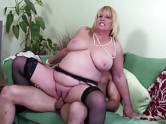 Big Boobs, Granny, Mature, MILF, Old and Young