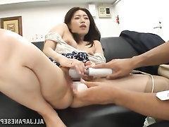 Asian, Blowjob, MILF, Panties