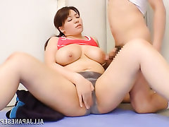 Asian, Big Tits, Creampie, MILF