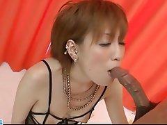 Asian, Blowjob, Hardcore, Japanese, Lingerie