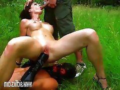 Amateur, Fisting, MILF, Outdoor