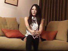 Asian, Blowjob, Cumshot, Stockings, Japanese