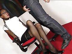 Blowjob, Cumshot, Mature, Pantyhose, Stockings