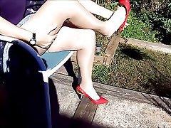 Amateur, Granny, Mature, Pantyhose, Stockings