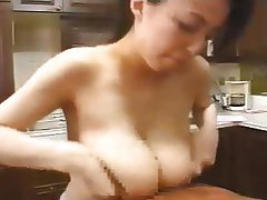 Pornstar, Cumshot, Big Boobs, Japanese