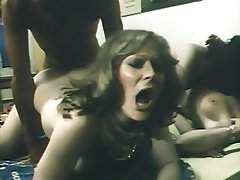 Group Sex, Hairy, Interracial, Vintage