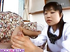 Asian, Blowjob, Handjob, Japanese